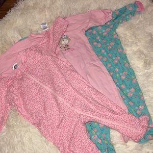 Baby girl bundle sleeper